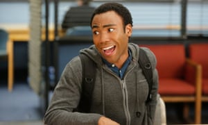 Troy story: Donald Glover in Community.