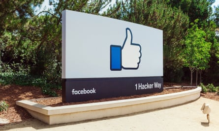 The Facebook HQ.