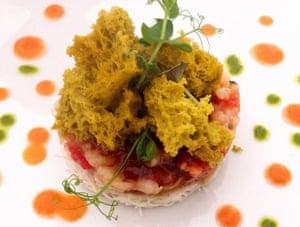 Organic food at L'Antic Forn, Cervera