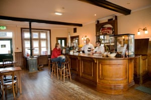 The bar at Carnforth station.