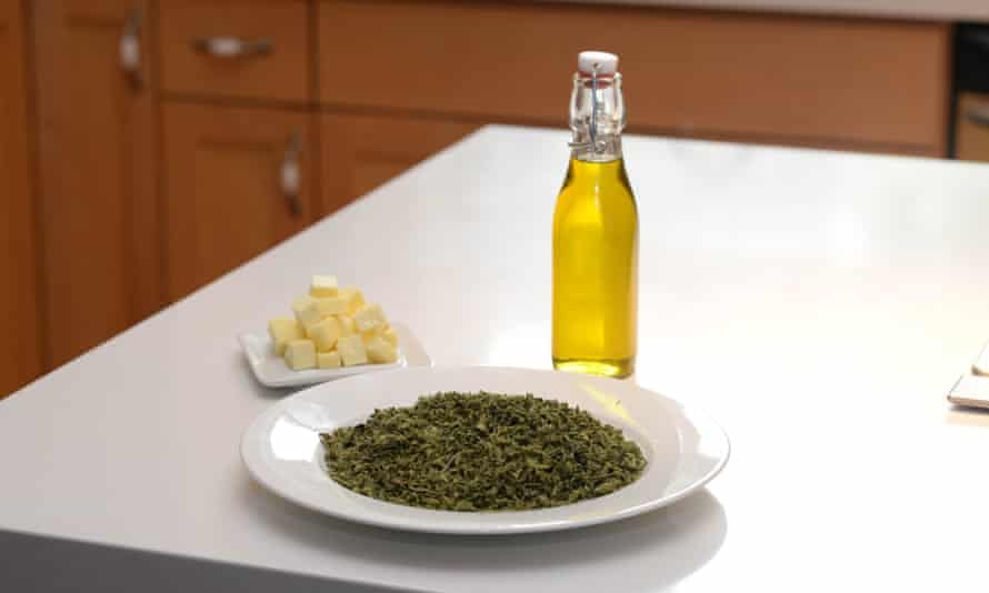 weed oil and butter