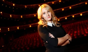 Author JK Rowling at Lincoln Center in New York in 2012.