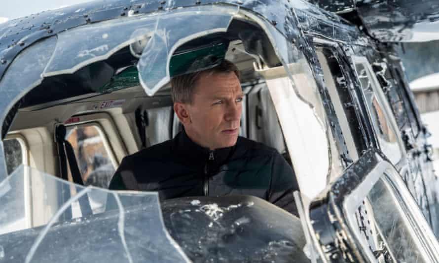 Solid Bond … Daniel Craig in Spectre.