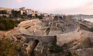 Tarragona's Roman Amphitheatre, built in the second century AD.