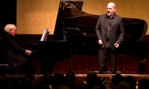Graham Johnson and Florian Boesch at Wigmore Hall.