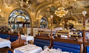 Le train Bleu restaurant, Paris