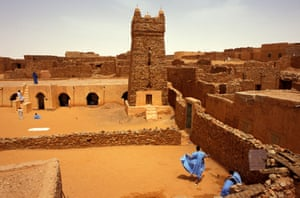 The town of Chinguetti, once a renowned centre of Islamic learning, is now being reclaimed by the desert.