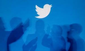 Twitter logo for polling
