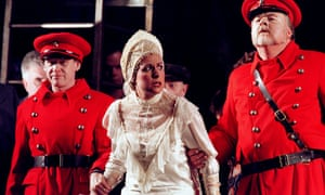 Vivan Tierney in Lady Macbeth of Mtsesnk in ENO's 2001 production directed by David Pountney.