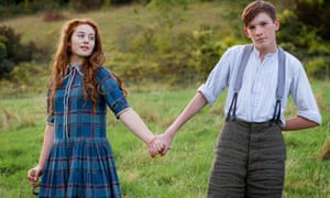 Ruby Ashbourne Serkis as Rosie and Archie Cox as Loll in Cider With Rosie