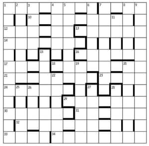Azed Crossword