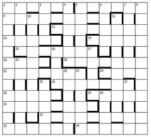 Azed Crossword
