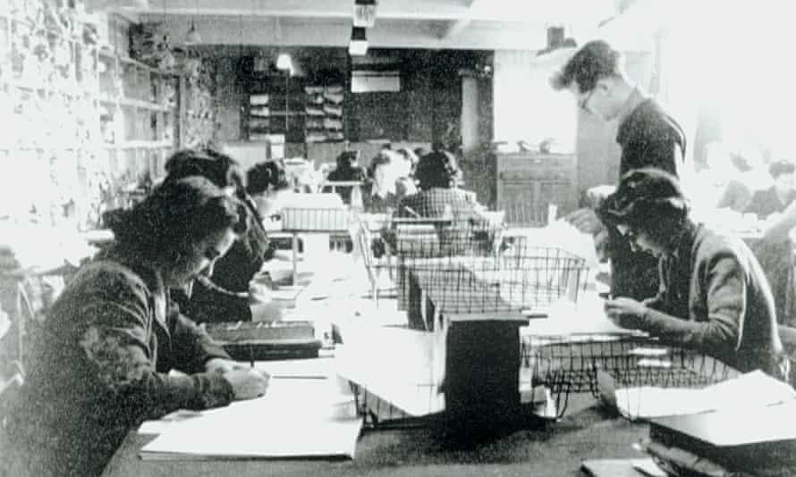 Bletchley Park, 1943.