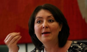 Maryam Namazie during a meeting of the Council of Ex-Muslims of Britain.