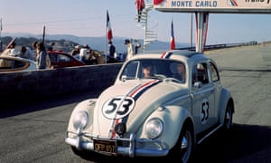 A scene from the 1977 Disney film Herbie Goes to Monte Carlo.