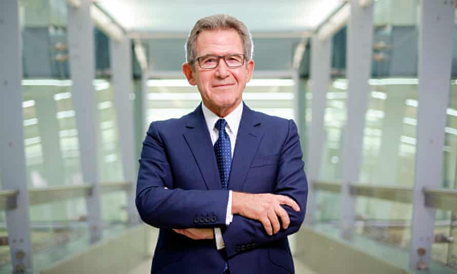 Lord Browne, formerly chief executive of BP