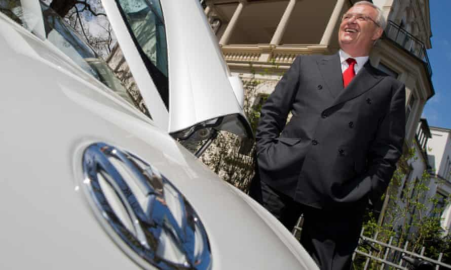 Toxic fallout: Martin Winterkorn, who resigned as CEO of Volkswagen as the crisis unfolded last week.