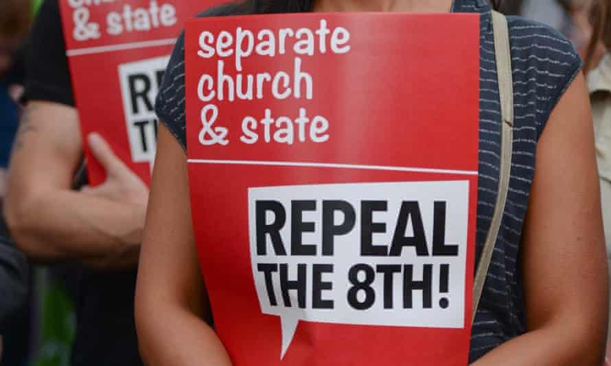 demonstrators march for choice dublin ireland
