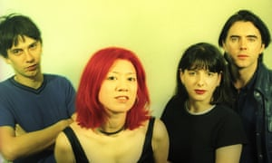 Lush in 1996 … Chris Acland, Miki Berenyi, Emma Anderson and Philip King.