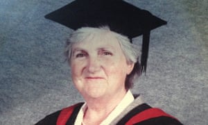 Margaret Lawson graduated at the age of 70 with a history degree from Essex University