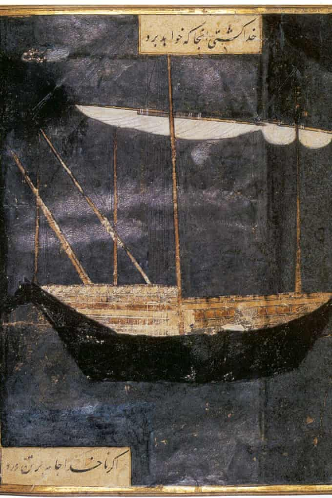 Mixed-media artwork After, God Sets the Course for the Ship, and Not the Captain.
