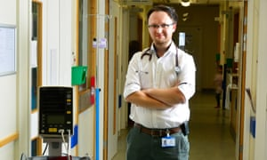 Junior doctor David Watkin: 'We feel very under-appreciated by the government and the Department of Health.'