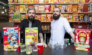 Gary and Alan Keery at their Cereal Killer Cafe