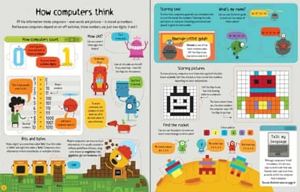 Usborne's new Lift-the-Flap Computers and Coding book.