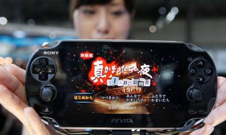 The PlayStation Vita. It's beautiful, but is it loveable?  (AP Photo/Koji Sasahara)