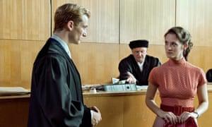 Johann Radmann (Alexander Fehling) and Marlene Wondrak (Friederike Becht).