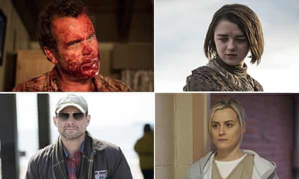 Fear the Walking Dead; Game of Thrones; Orange is the New Black; Mr Robot