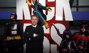 Kick Ass creator Mark Millar attends the Scottish premiere of Kick Ass at Cineworld in Glasgow.