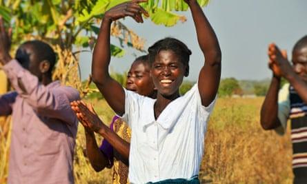 Alifosina Lirambwe in Malawi