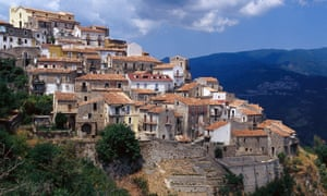 The town of Sellia, Italy