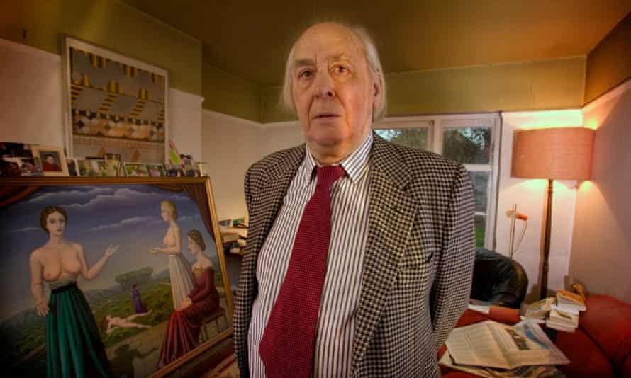 JG Ballard in 2004. Photograph: Barry Lewis/In Pictures/Corbis