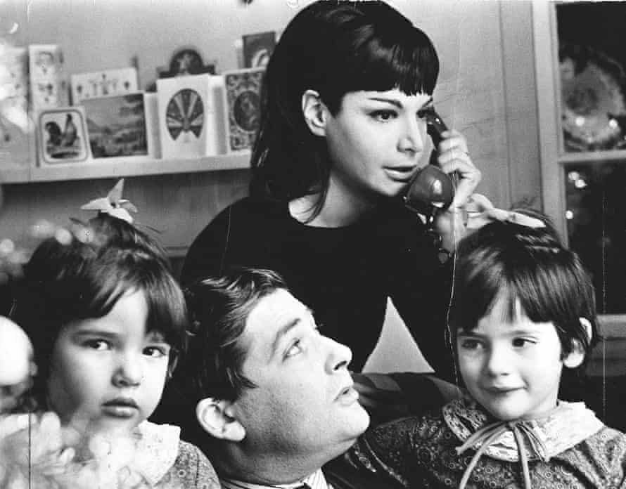 Photograph of Nigella Lawson and family