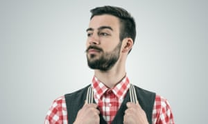 A male hipster