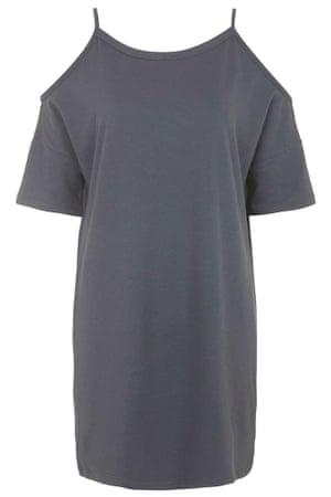 Topshop Casual Cold Shoulder Dress.