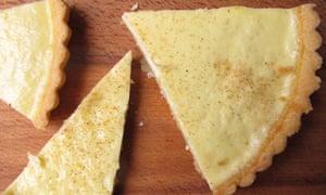 Leiths custard tart.