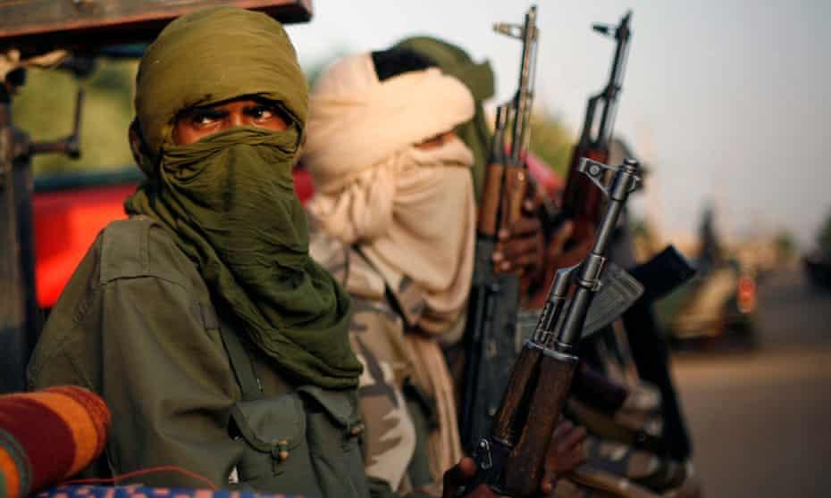 Islamist soldier in Mali.