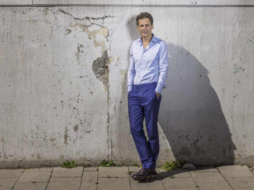 David Lagercrantz, a controversial choice for continuing the Salander-Blomkvist series.