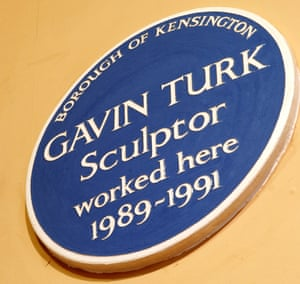 'Self' by Gavin Turk, 1991.