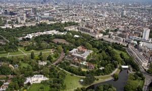 Regent's Park: a defining piece of picturesque city planning by John Nash.