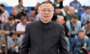 Director Wang Chao at the 67th Annual Cannes Film Festival in 2014 in Cannes, France.