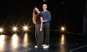 Russell Maliphant and Dana Fouras at their dance studio in north-west London.