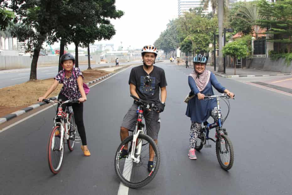 Jakarta cycling