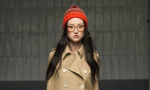 Spectacles on the Gucci Autumn Winter 2015 catwalk