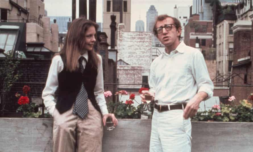 'That's just ­remarkable, what he did for me,' said Diane Keaton on Woody Allen's writing of Annie Hall. Photograph: Alamy