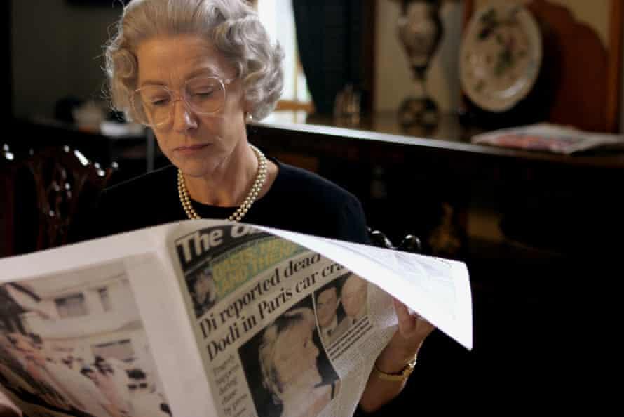 Helen Mirren in The Queen, directed by Stephen Frears (2006)