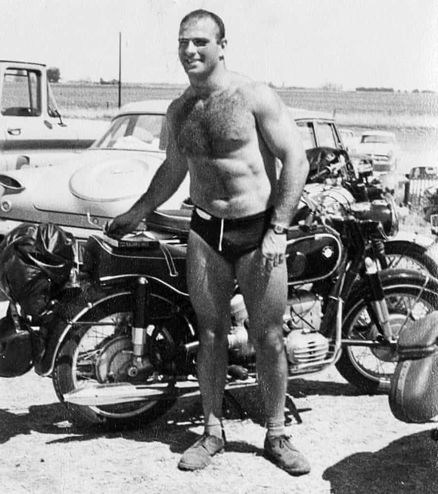 Oliver Sacks at Muscle Beach